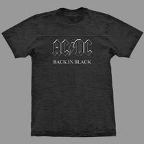 Camiseta Ac/dc Malha Flame - Stamp Rock Crazzy Store