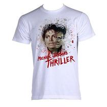 Camiseta Michael Jackson - Thriller - Do P Ao Xgg