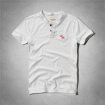Camisas Henley Abercrombie & Fitch Masculinas Originais
