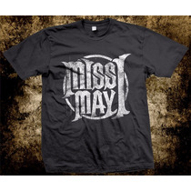 Camisetas De Bandas Rock Metalcore Miss May I
