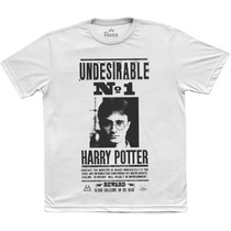 Camiseta Masculina - Harry Potter Procurado