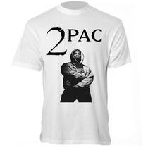 Camiseta 2pac - Camisa Tupac Shakur