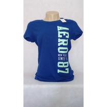 Camiseta Aéropostale Feminina Original - Frete Grátis Brasil
