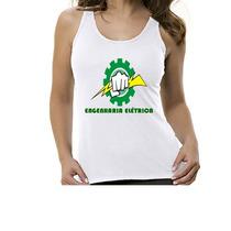 Camiseta Regata Curso Engenharia Elétrica- Feminino