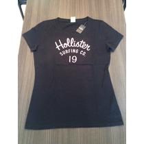 Camiseta Hollister Feminina Original Opções De Tam / Cor