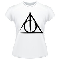 Baby Look Harry Potter Frente Verso Camiseta Feminina