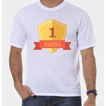 Camiseta Pai Número 1