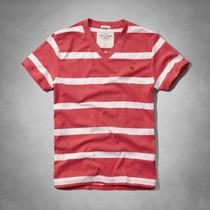 Camiseta Abercrombie Masculina Blusa Camisa Hollister Tommy