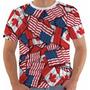 Camiseta Camisa Regata Usa Eua Estados Unidos Canada 32 Colo