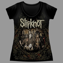 Baby Look Premium Slipknot All Hope Is Gone
