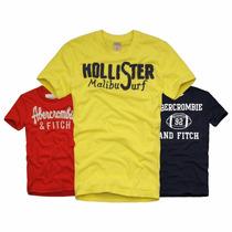 Camisetas Abercrombie Hollister Armani Sergio K Calvin Klein