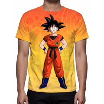 Camisa, Camiseta Anime Dragon Ball Z - Son Goku