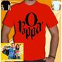 O Rappa Camiseta Bandas Camisa Rock Nacional Charlie Brown