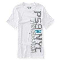 Aeropostale Meninos Ps9 Nyc T-shirt Gráfico