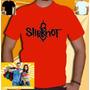 Camiseta Slipknot Camisas Banda Ramones Red Hot Beatles Guns