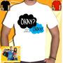 Camisa Okay A Culpa É Das Estrelas Cancer Ok Filme Camiseta