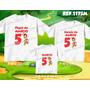 Kit Camisetas Personalizadas Aniversario Chapolim Colorado