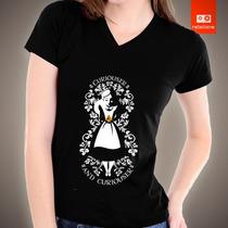 Camisetas Alice Disney Desenho Animado Camisa