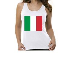 Camiseta Regata Bandeira Itália - Feminino