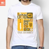 Camisetas Hobbit Senhos Dos Anéis Golum Filme Cinema