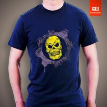 Camisetas Heman Gears Of Wars He-man Esqueleto Desenho Game