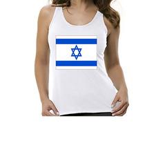 Camiseta Regata Bandeira Israel - Feminino