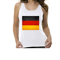 Camseta Regata Bandeira Alemanha - Feminino