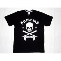 Camiseta Sumemo Caveira Tudu Nosso - Original