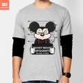Camisetas Mickey Disney Bad Desenhos Animados Cinema Camisa