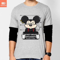 Camisetas Mickey Disney Bad Desenhos Animados Cinema Camisa