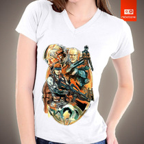 Camisetas Metal Gear Solid Snake Psp Playstation Camisa