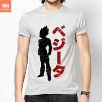 Camisetas Dragon Ball Z Dbg Vedita Vegeta Desenhos Herois