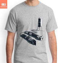 Camisetas Star Wars Sabre De Luz Espada Charge Geek Nerd