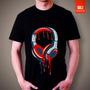 Camisetas Dj Musica Headphone Phone Fone Dicco