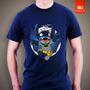 Camisetas Batman Stitch Homem Morcego Herois Dc Comic Disney