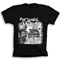 Camiseta Mychemical Romance Camiseta Rock