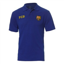 Camisa Polo Barcelona Licenciada Meltex 1429 Azul