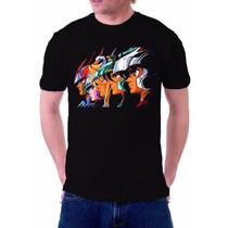 Camisa, Camiseta Do Anime Cavaleiros Do Zodíaco Cavaleiros