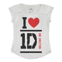 T-shirt I Love One Direction - Blusa Feminina