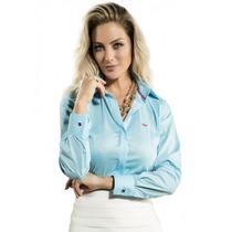 Blusa Social Fashion Feminina Principessa Daniele