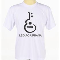 Camiseta Camisa Personalizada Banda Rock Legião Urbana