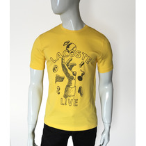 Camisa Camiseta Lacoste Big Logo Croc Live Hand 27