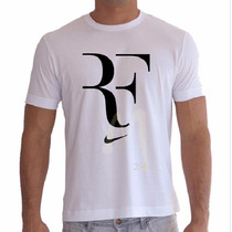 Camisa Roger Federer Blusa Tênis Baby Looks Personalizada