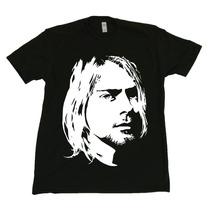 Camiseta Kurt Cobain Nirvana