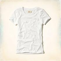Camiseta Baby Look Hollister Feminina - Size L - Original