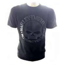 Camiseta Harley Davidson Skull Frete Grátis Brinde Chaveiro