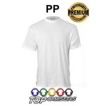 Camiseta Lisa Malha Pp - 100% Poliester Para Personalização