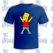 Camisetas Personalizadas Bart Simpsons Engraçadas