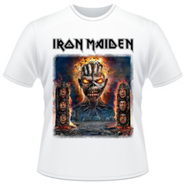 Camiseta Iron Maiden The Book Of Souls Banda Camisa