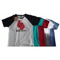 Kit Com 5 Camisetas Red Nose Original Pitbull Mma Masculina